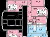 """Схема квартиры в проекте """"мой адрес На Базовской""""- #195465350"""