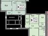 """Схема квартиры в проекте """"мой адрес На Базовской""""- #1358759442"""