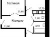 """Схема квартиры в проекте """"На семи холмах""""- #1329291092"""