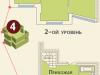 """Схема квартиры в проекте """"на ул. Дубки""""- #1767330905"""