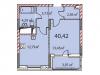 "Схема квартиры в проекте ""на ул. Наташи Качуевской, 1""- #469424273"