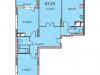 "Схема квартиры в проекте ""на ул. Наташи Качуевской, 1""- #555990156"