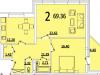 """Схема квартиры в проекте """"на ул. Советская""""- #1263685720"""