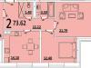 """Схема квартиры в проекте """"на ул. Советская""""- #1451643914"""