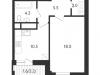 """Схема квартиры в проекте """"на Усиевича""""- #402066944"""