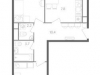 "Схема квартиры в проекте ""Nagatino i-Land""- #1879413401"