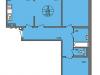 "Схема квартиры в проекте ""Нахабино Ясное""- #670084948"