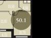 """Схема квартиры в проекте """"Наследие""""- #918440407"""