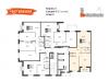 """Схема квартиры в проекте """"Настроение""""- #664307456"""