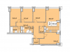 "Схема квартиры в проекте ""Небо""- #968718172"