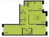 """Схема квартиры в проекте """"Новая Щербинка""""- #915120802"""