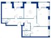 """Схема квартиры в проекте """"Now.Квартал на набережной""""- #2060158647"""