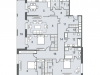 "Схема квартиры в проекте ""NV/9 Artkvartal (НВ/9 Артквартал)""- #522738319"