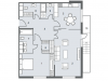 "Схема квартиры в проекте ""NV/9 Artkvartal (НВ/9 Артквартал)""- #854656177"
