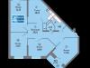 """Схема квартиры в проекте """"Одинбург""""- #273076070"""