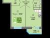 """Схема квартиры в проекте """"Одинбург""""- #1097273398"""