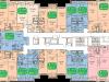 """Схема квартиры в проекте """"Одинцовский Парк""""- #74799020"""