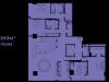 """Схема квартиры в проекте """"Око""""- #71003398"""