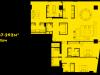 """Схема квартиры в проекте """"Око""""- #1753251401"""
