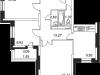 """Схема квартиры в проекте """"Микрорайон на Стрелковой""""- #1250585488"""