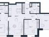 "Схема квартиры в проекте ""ONLY""- #434218604"