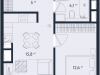 "Схема квартиры в проекте ""ONLY""- #1210599834"