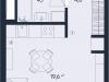 "Схема квартиры в проекте ""ONLY""- #955616115"