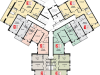 """Схема квартиры в проекте """"Остров Эрин (Ирландский квартал)""""- #1858597999"""
