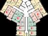 """Схема квартиры в проекте """"Остров Эрин (Ирландский квартал)""""- #251133703"""