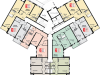 """Схема квартиры в проекте """"Остров Эрин (Ирландский квартал)""""- #1783160736"""