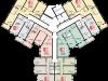 """Схема квартиры в проекте """"Остров Эрин (Ирландский квартал)""""- #1587273327"""
