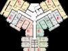 """Схема квартиры в проекте """"Остров Эрин (Ирландский квартал)""""- #2070414436"""