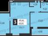 "Схема квартиры в проекте ""Отрада-апарт""- #1351715461"
