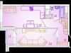 """Схема квартиры в проекте """"Отрадный""""- #569555801"""