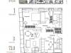 "Схема квартиры в проекте ""Palazzo Остоженка, 12""- #1305121223"