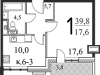 "Схема квартиры в проекте ""Парк Легенд""- #536953667"
