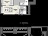 """Схема квартиры в проекте """"Парк Мира""""- #1738596590"""