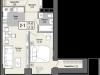 """Схема квартиры в проекте """"Парк Мира""""- #126517482"""