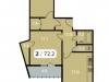 """Схема квартиры в проекте """"Парк на Фабричной""""- #2033738079"""