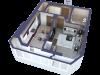 """Схема квартиры в проекте """"Парковый""""- #699143609"""