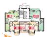 """Схема квартиры в проекте """"Парковый""""- #1407431401"""