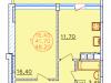 "Схема квартиры в проекте ""Патио Парк""- #244983001"