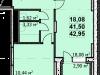 """Схема квартиры в проекте """"Пегас""""- #379440919"""