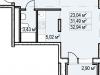 """Схема квартиры в проекте """"Пегас""""- #1044353667"""