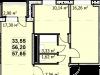 """Схема квартиры в проекте """"Пегас""""- #469899410"""