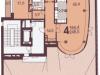 """Схема квартиры в проекте """"Плотников""""- #1962978790"""