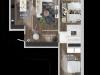 """Схема квартиры в проекте """"Позитив""""- #1345536741"""