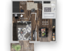 """Схема квартиры в проекте """"Позитив""""- #1052625508"""