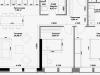 """Схема квартиры в проекте """"Правда""""- #513197836"""