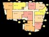 """Схема квартиры в проекте """"Премьер""""- #1600238176"""